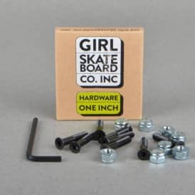 One Inch Hardware Allen Skateboard Truck Bolts 1''