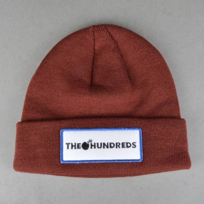 The Hundreds Glass Beanie - Maroon