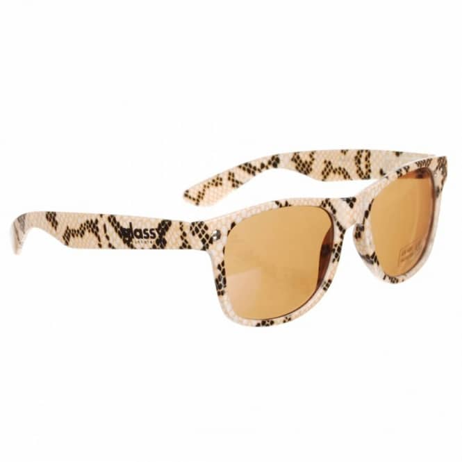 15f8b9351e Glassy Sunhaters Leonard Shades - Snake - ACCESSORIES from Native ...