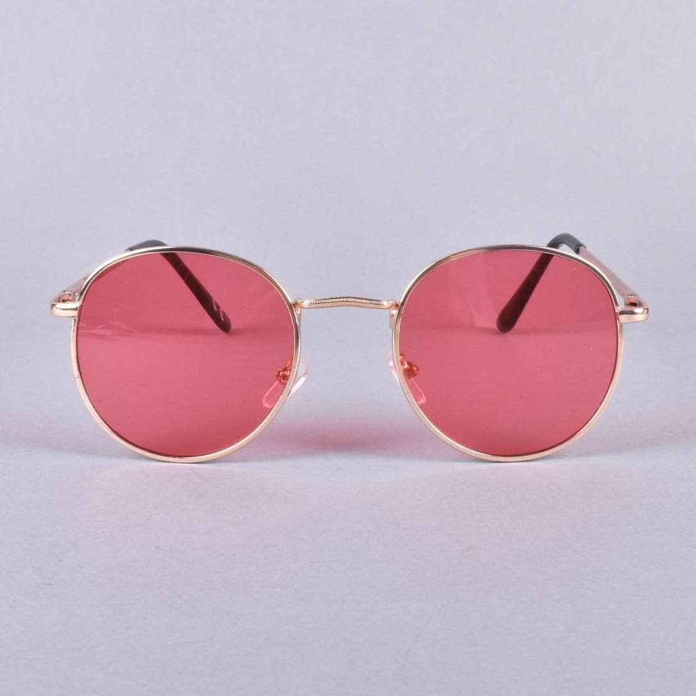 8f4f98a89b Glassy Sunhaters Ridley Sunglasses - Gold Red Lens - ACCESSORIES ...