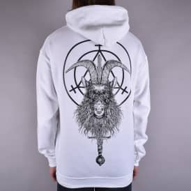 Goatwitch Pullover Hood - White