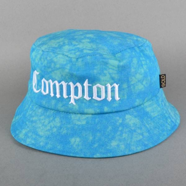 Gold Wheels Compton Bucket Hat - Blue - SKATE CLOTHING from Native ... 277cf3061f2