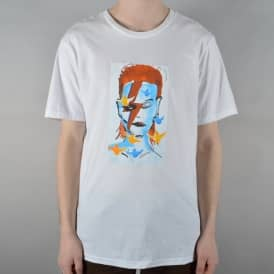Prime Heritage Gonz Bowie T-Shirt - White