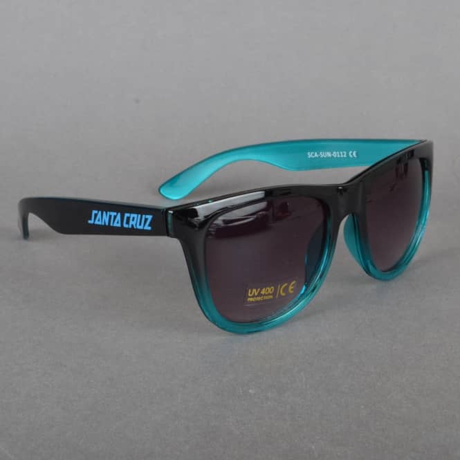 Santa Cruz Skateboards Grade Sunglasses - Blue/Black
