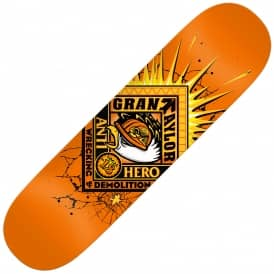Grant Taylor Demolition Orange (Full) Skateboard Deck 8.5