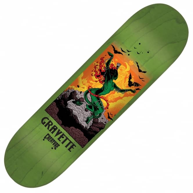 Creature Skateboards Gravette Viscerous Skateboard Deck 8.25