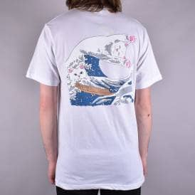Great Wave Of Nerm T-Shirt - White