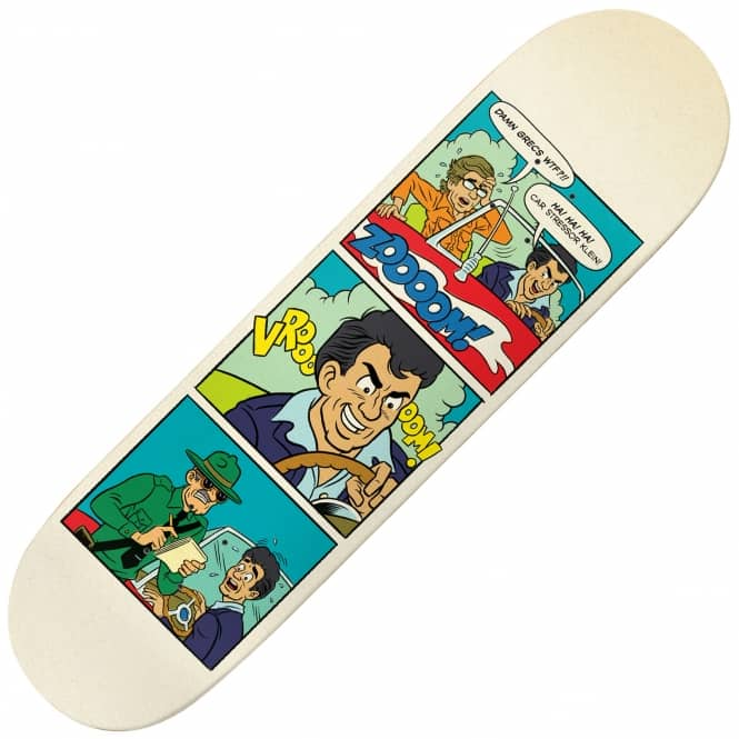 Deathwish Skateboards Greco Teen-Ager Skateboard Deck 8.25