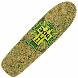 Green Cross Cruiser Skateboard Deck - 7.875