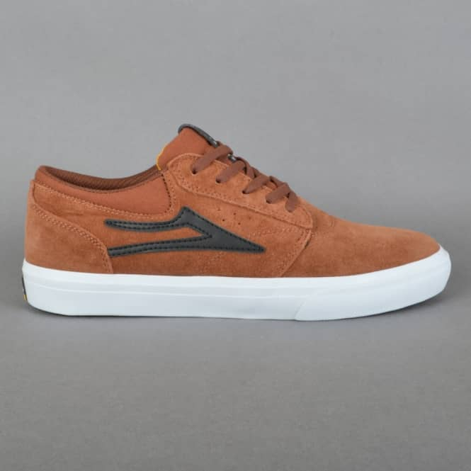 Lakai Griffin Skate Shoes - Copper Suede