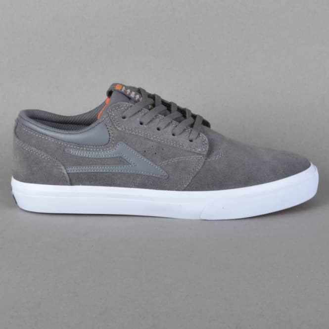 Lakai Griffin Skate Shoes - Gargoyle Suede