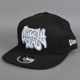 Grizzly Dead Snapback Cap - Black