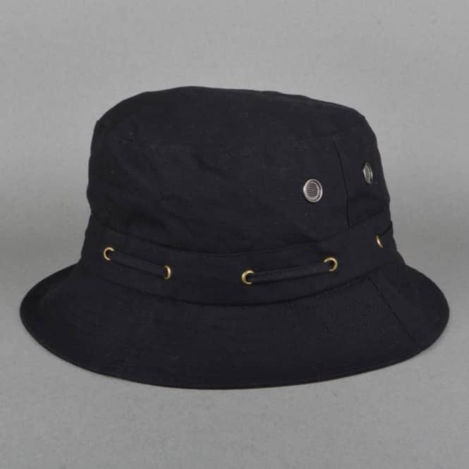 Grizzly Griptape Bear Trap Bucket Hat - Black - SKATE CLOTHING from ... ede73063857