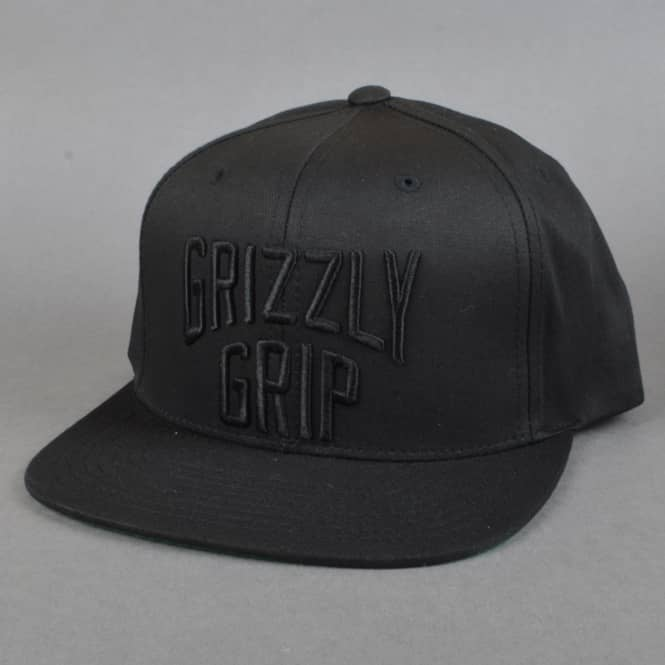 Grizzly Griptape Big City Snapback Cap - Black