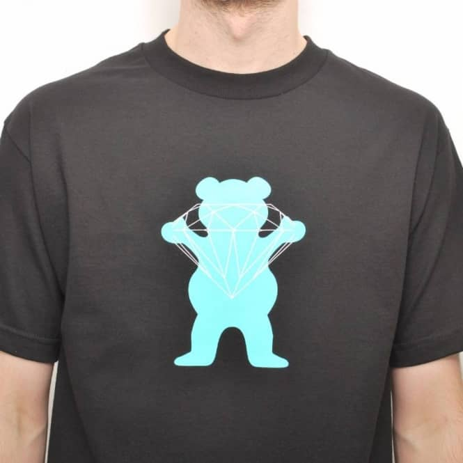 d226327754d Grizzly Griptape Diamond Supply Co. Grizzly Brilliant Bear Skate T ...
