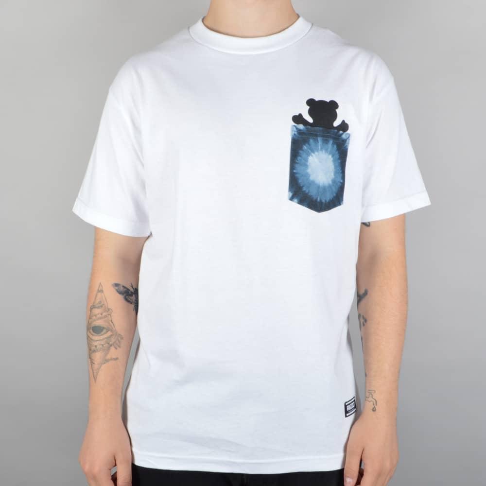 a6513744 Grizzly Griptape Eclipse Tie Dye Pocket T-Shirt - White - SKATE ...