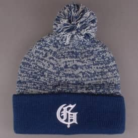 G Speckled Pom Pom Beanie - Navy
