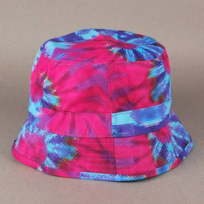 79c40a1c182556 Grizzly Griptape Grizzly Digi Tie Dye Bucket Hat - Cotton Candy ...