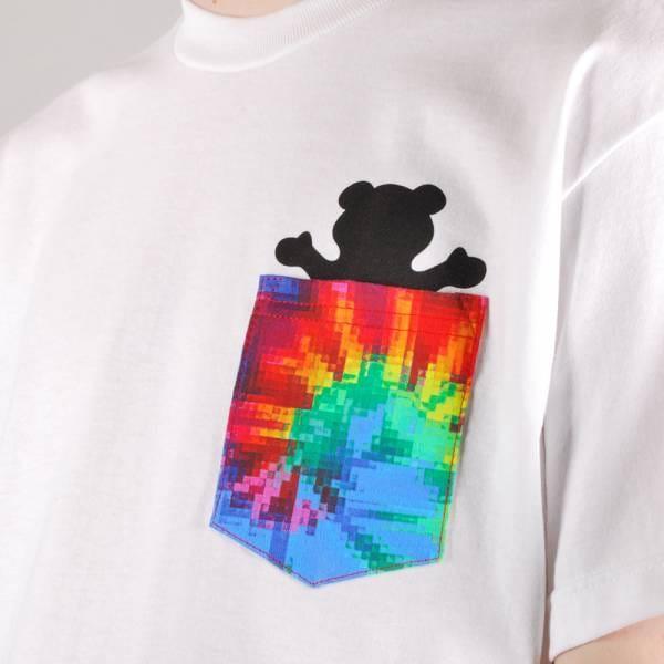 Grizzly Griptape Grizzly Digi Tie Dye Pocket T-Shirt ...