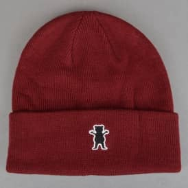 Grizzly Gram Beanie - Burgundy