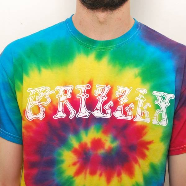 Grizzly Griptape Grizzly Grizzly Dead Tie Dye T-Shirt ...