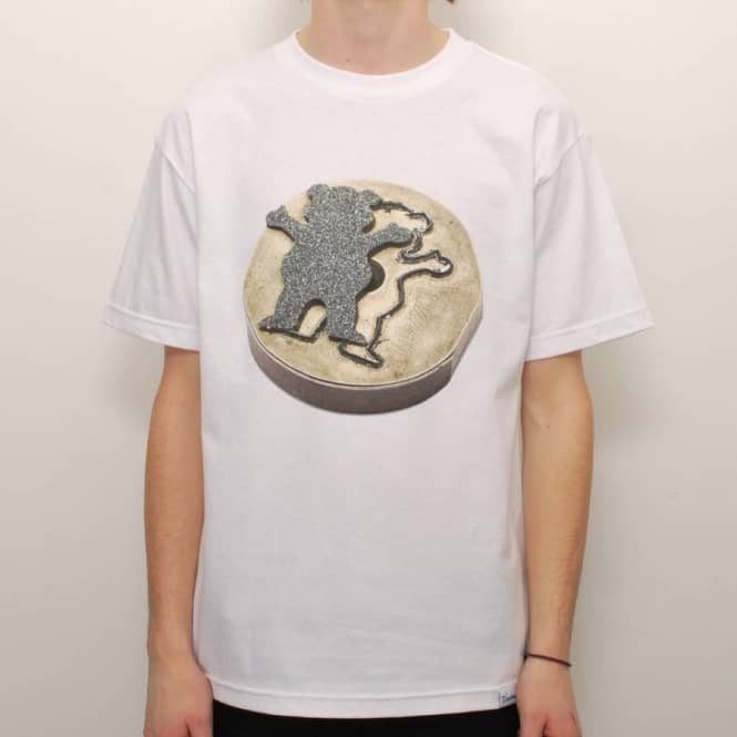 Grizzly Griptape Grizzly The Beginning Skate T-Shirt - White