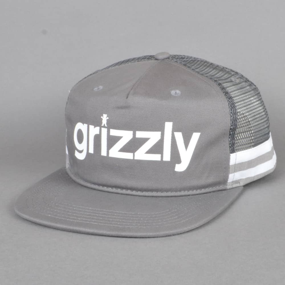 e28bd495d85 Heritage Outdoor Mesh Cap - Cement Grey. Grizzly Griptape ...