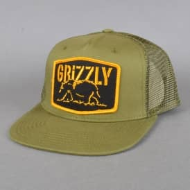 Northern Rockies Trucker cap - Army Green