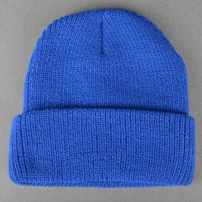 4a99f29d8 OG Bear Patch Fold Beanie - Royal Blue