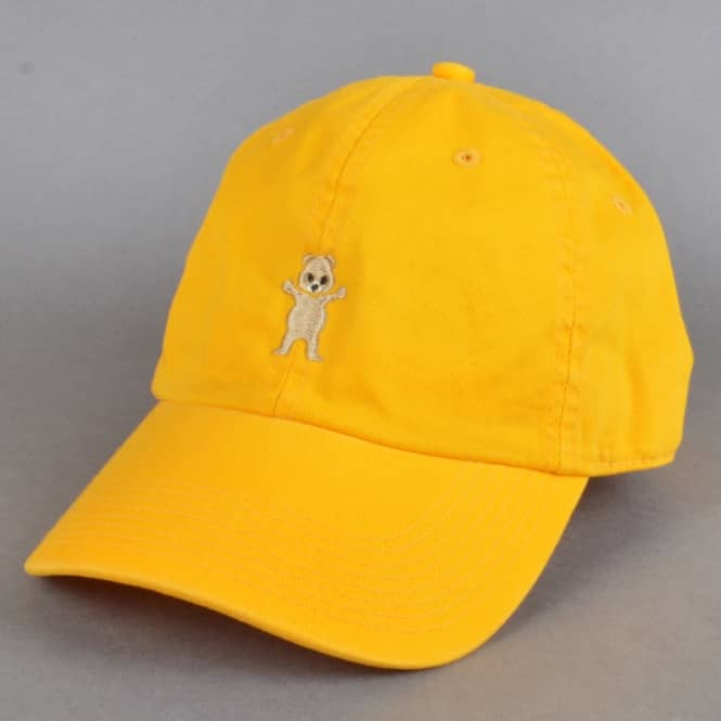 Grizzly Griptape Pudwill Pro Dad Cap - Banana Yellow