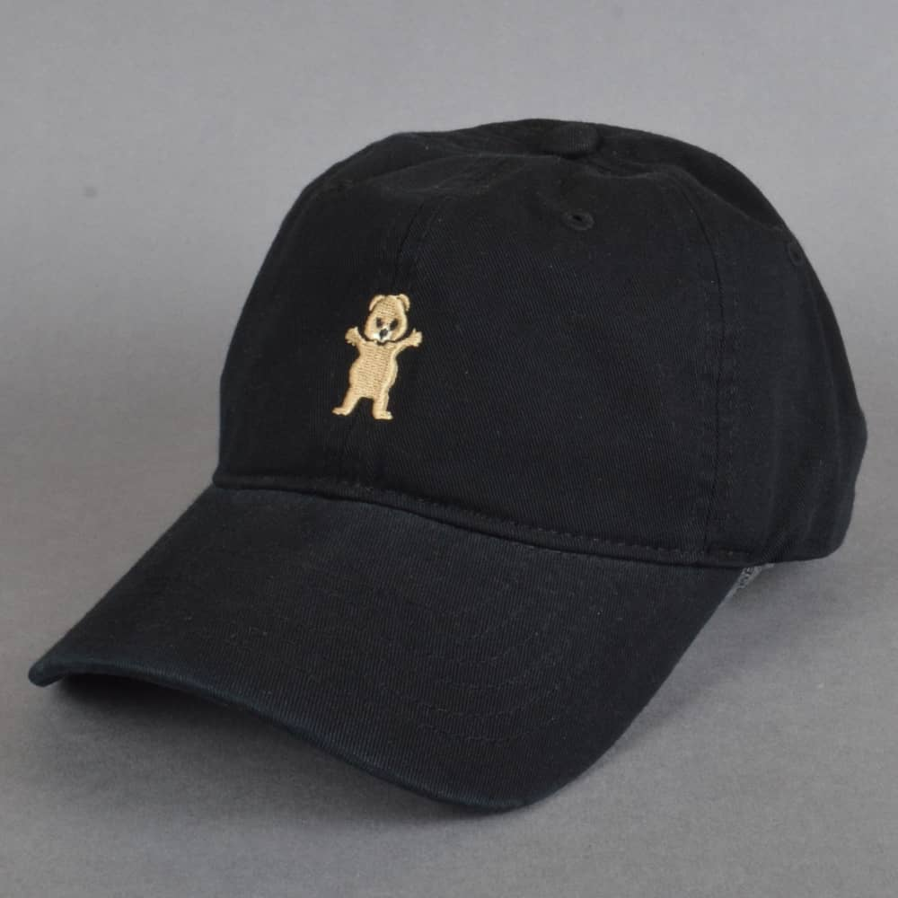 Grizzly Griptape Pudwill Pro Dad Cap - Black - SKATE CLOTHING from ... 1384d91eea2