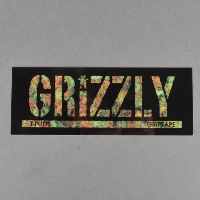 Grizzly Griptape Torey Kush Skateboard Sticker