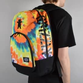 Grizzly Griptape TP01 Backpack - Orange Tie Dye