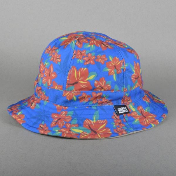 Grizzly Griptape Tropical High Reversible Bucket Hat - Blue - SKATE ... a35061a51fa