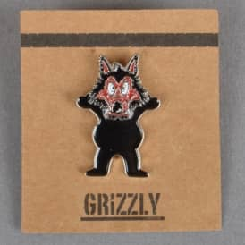Wolfpack Enamel Pin Badge