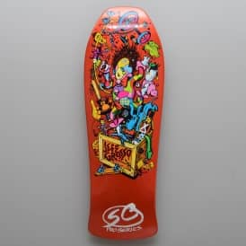 Grosso Toybox Candy Orange Reissue Skateboard Deck 10.0