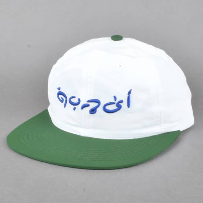 Quasi Skateboards Gulf Snapback Cap - White/Green