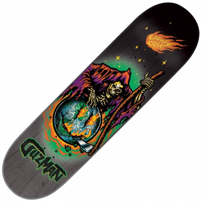 Santa Cruz Skateboards Guzman Smile Now Skateboard Deck 8.2