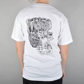 GX1000 Sees All Skate T-Shirt - White