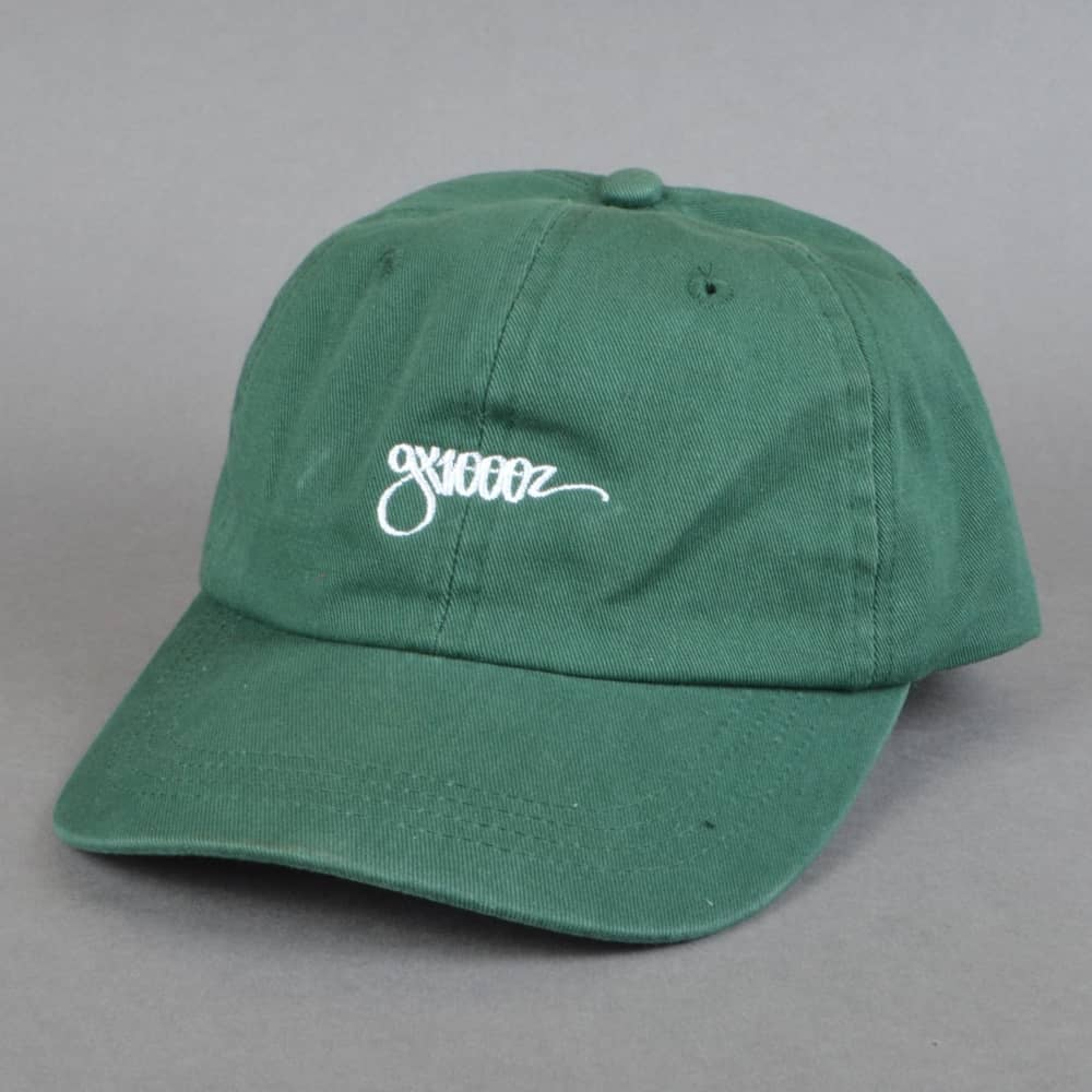 GX1000 One Liner Dad Cap - Moss - SKATE CLOTHING from Native Skate ... 802720270d3