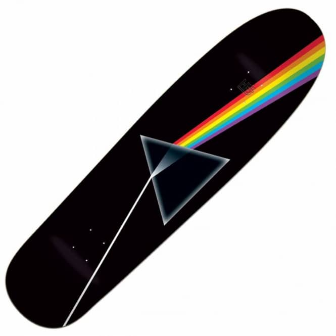 Habitat Skateboards Darkside Of The Moon Cruiser Skateboard Deck 8.375