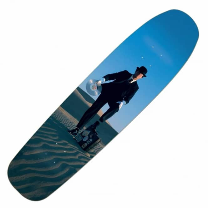Habitat Skateboards Invisible Man Cruiser Skateboard Deck 8.25