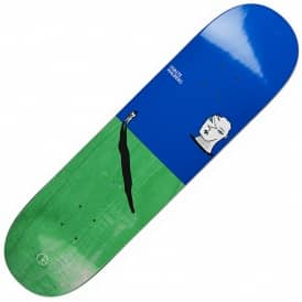 Halberg Big Head (Green Stain) Skateboard Deck 8.0