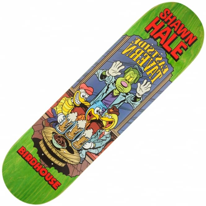Birdhouse Hale Vices (Green Stain) Skateboard Deck 8.38