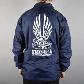 Hard Bond Coach Jacket - Navy