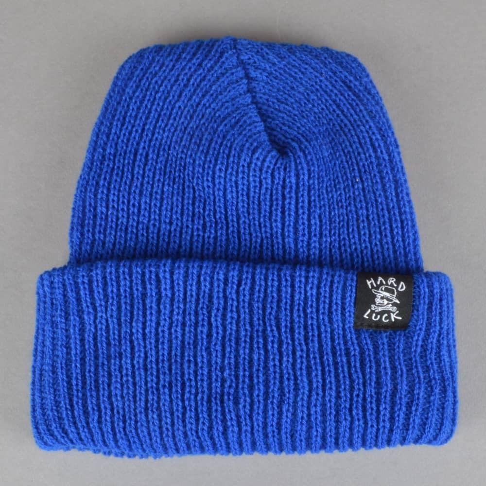 Hard Luck MFG OG Logo Woven Beanie - Royal Blue - SKATE CLOTHING ... 44351474766
