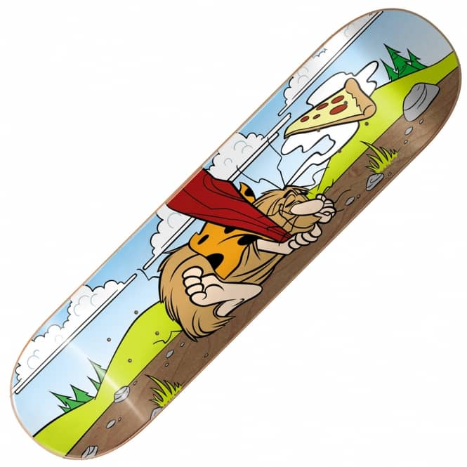 Almost Skateboards Haslam Napping Caveman Skateboard Deck 8.375''