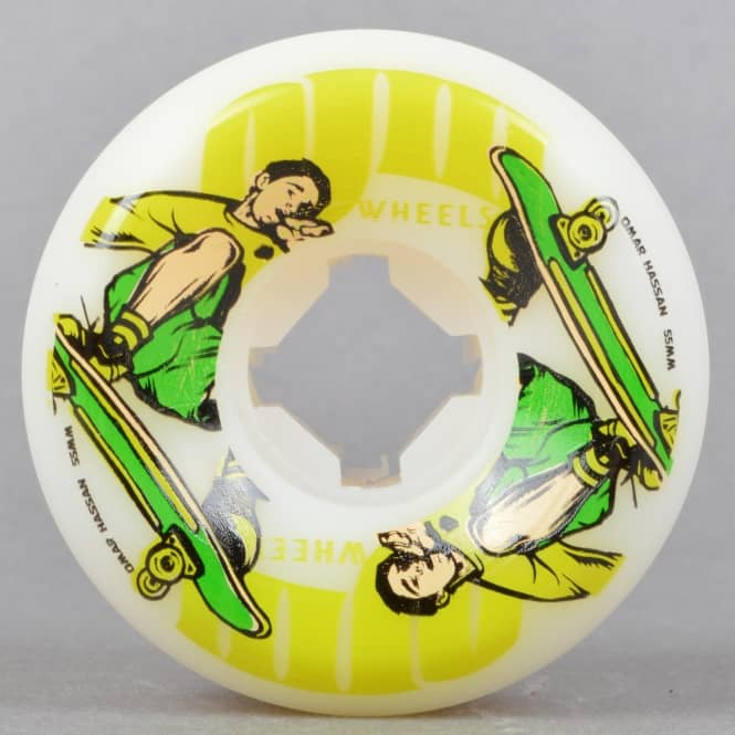 OJs Wheels Hassan Nineties Hard Line 101A Skateboard Wheels 55mm