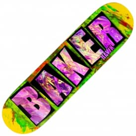 Hawk Brand Name Fingerpaint Skateboard Deck 8.475