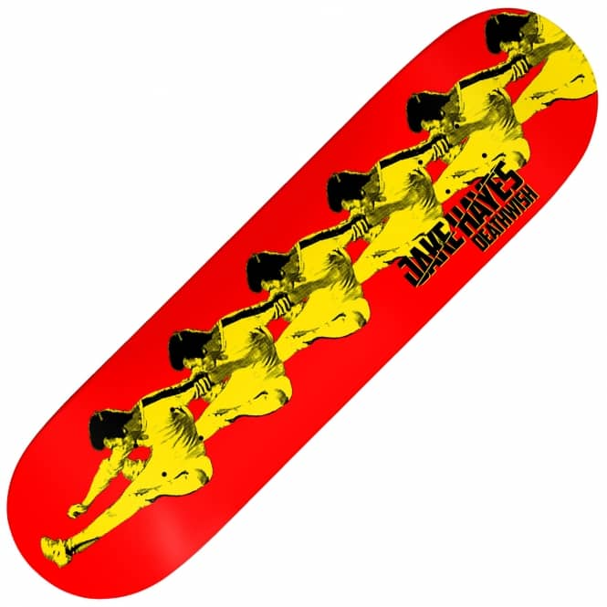 Deathwish Skateboards Hayes Like Water Skateboard Deck 8.125